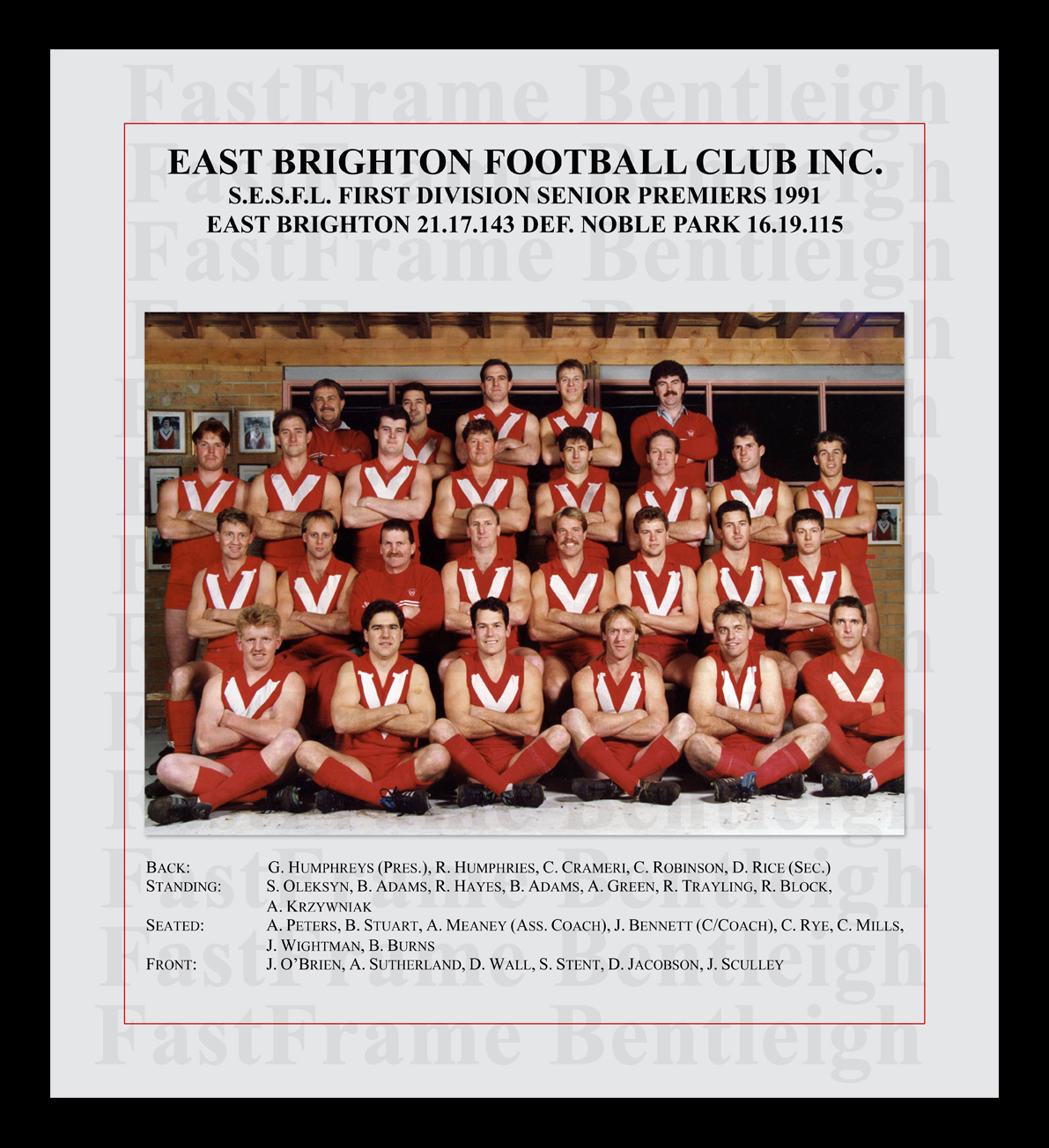 East Brighton 1991